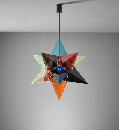 Arredoluce, 'Rare ceiling light', 1960s