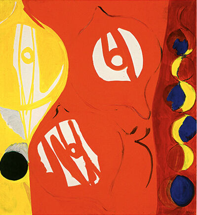 Ernst Wilhelm Nay, 'Rot in Rot II', 1965