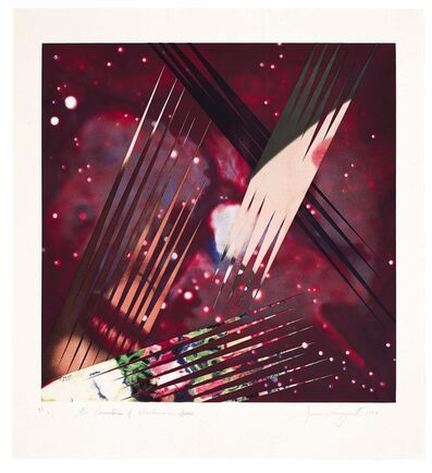 James Rosenquist, 'The Persistence of Electrons in Space', 1987