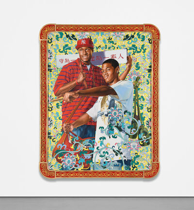 Kehinde Wiley, 'Defend and Develop the Island Together', 2006
