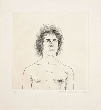 David Hockney, 'Portrait of a Young Man ( Wayne Sleep)', 1969