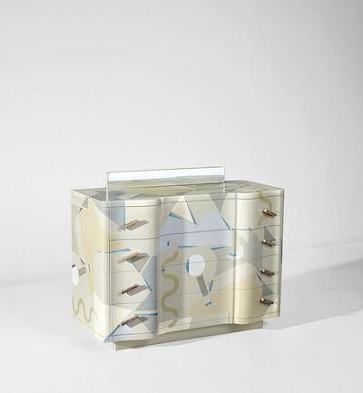 Alessandro Mendini, 'Rare 'Cetonia' chest of drawers', 1984