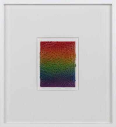 Jennifer Guidi, 'Eight of Wands (White Sand #9 Mandala, Rainbow Gradient)', 2018