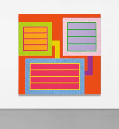 Peter Halley, 'Bright', 2018