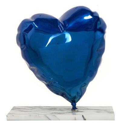 Mr. Brainwash, 'Balloon Heart - Chrome Blue (ES20-BH16-CB) [MBW]', 2020