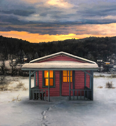 Scott Prior, 'Summer Cabin in Winter', 2019