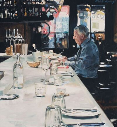 Paul Oxborough, 'Oyster Bar', 2020