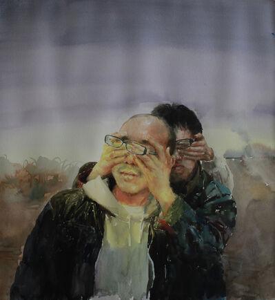 Deng Chengwen, 'Blind Walker Dawn', 2011