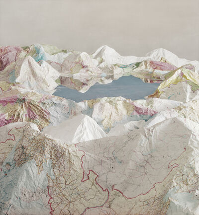 Ji Zhou, 'The Map No. 5', 2015