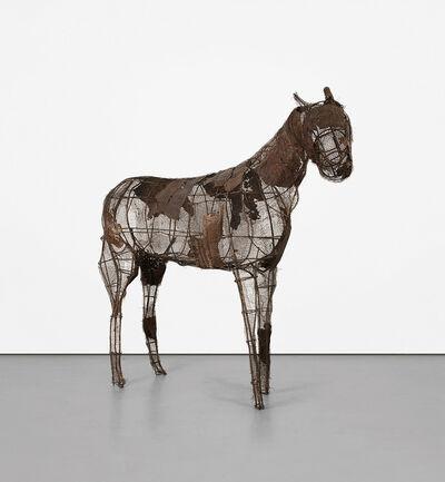 Deborah Butterfield, 'Jerusalem Horse II', 1980