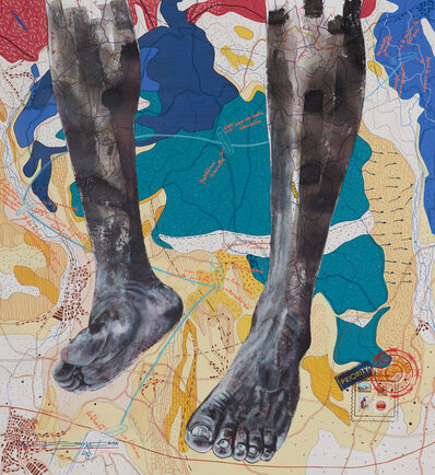 Jean David Nkot, 'www. the feet story. org', 2019