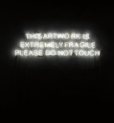 Jeppe Hein, 'This Artwork is Extremely Fragile...', 2009