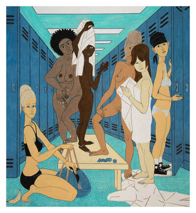 Yves Tessier, 'Locker Room', 2019