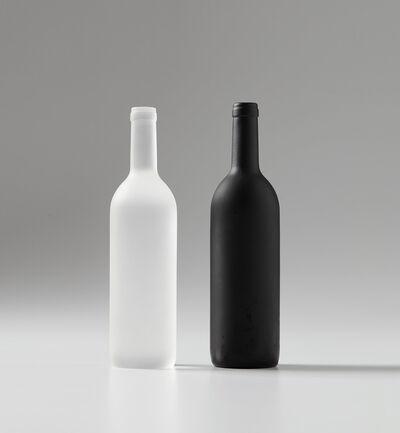 Sherrie Levine, 'Black and White Bottles', 1992