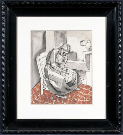 Julio González, 'Femme au moulin à café', ca. 1940