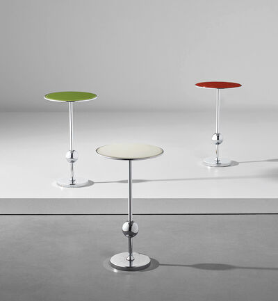 Osvaldo Borsani, 'Set of three 'T1' side tables', 1950s