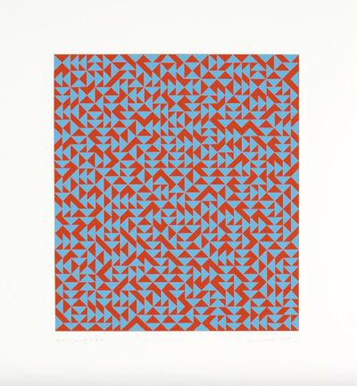 Anni Albers, 'C', 1969