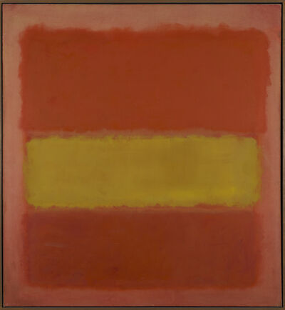 Mark Rothko, 'Yellow Band', 1956
