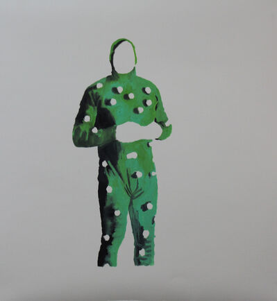 Mariana Bunimov, 'Greenscreen 2', 2016