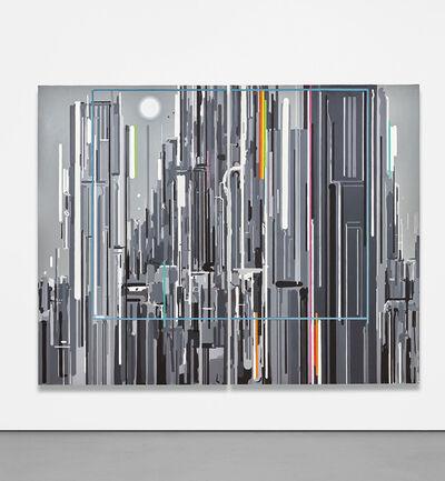 Liu Wei 刘韡, 'Purple Air III No. 2 (diptych)', 2006