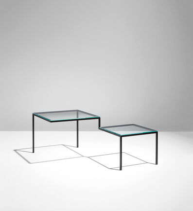 """nendo, '""""5000mm-table,"""" from the """"thin black lines"""" series', 2010"""