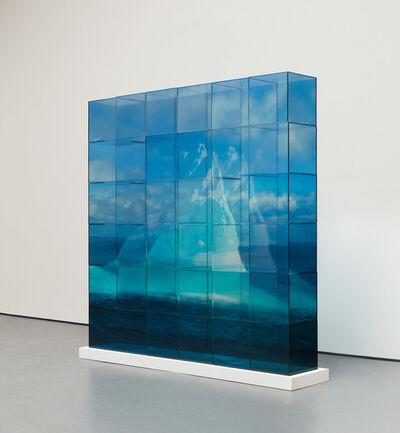 Teresita Fernández, 'Quiet Ice (Blue)'