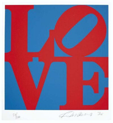 Robert Indiana, 'Book of Love', 1996
