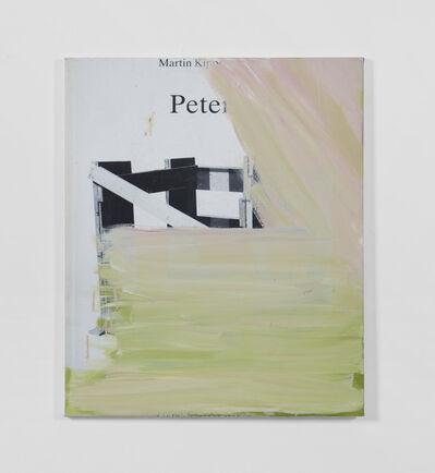 Peter Bonde, 'Bookpaiting #Martin Kippenberger'