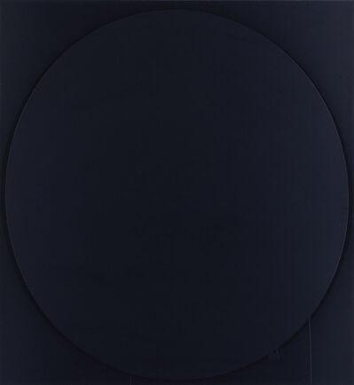 Ian Davenport, 'Oval black', 2002