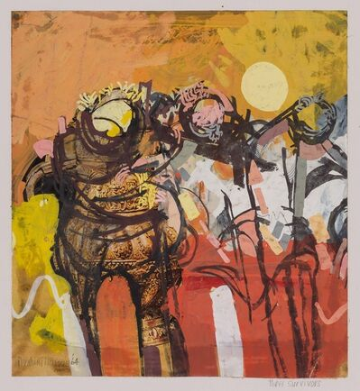 Ibrahim Hussein, 'Three Survivors', 1964