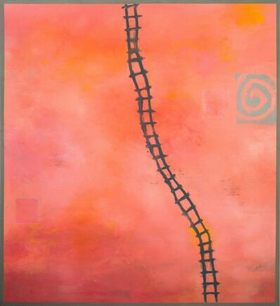 Adam Shaw (b. 1957), 'Climb the Ladder'