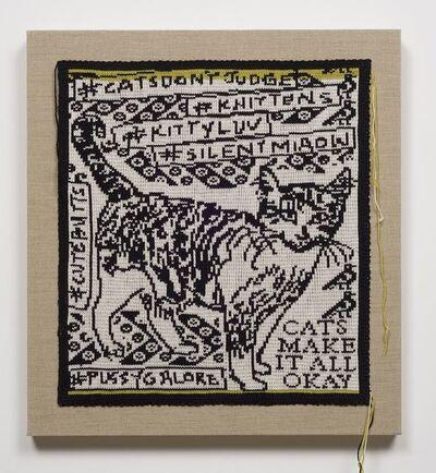 Lisa Anne Auerbach, 'Cats Make it All Ok', 2014