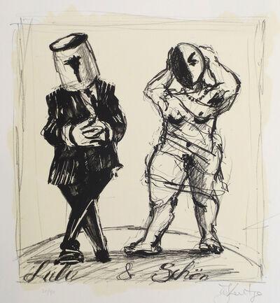 William Kentridge, 'Lulu & Schon', 2017