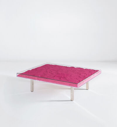 Yves Klein Table Ikb From The Edition Begun In 1963