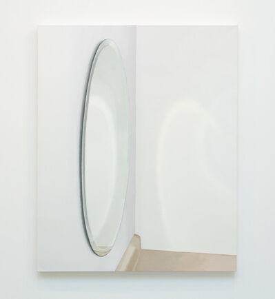 Roger White, 'Oval Mirror With Counter', 2015