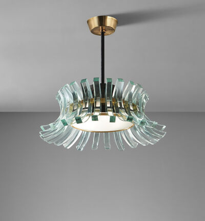Max Ingrand, 'Rare ceiling light', circa 1965