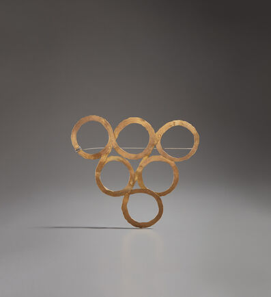 """Alexander Calder, '""""Six Circles"""" brooch', circa 1940"""