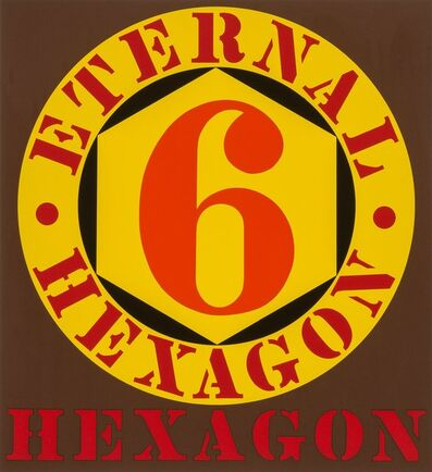 Robert Indiana, 'Eternal Hexagon, from Ten Works by Ten Painters', 1964