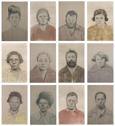 Sarah Ball, 'Untitled Portraits'