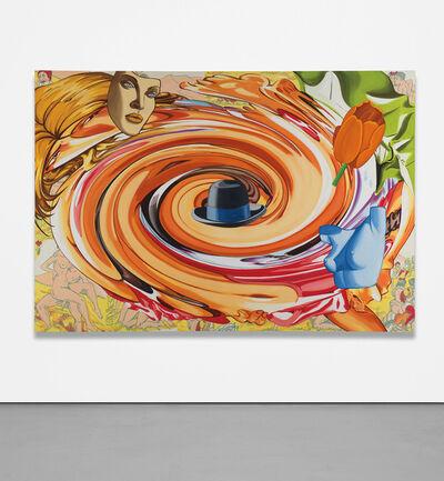 David Salle, 'Swirl with Blue Torso', 2004