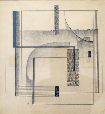 Dwinell Grant, 'Curvirectiline', 1941