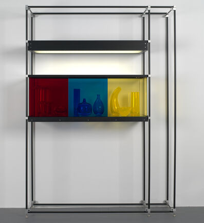 Josiah McElheny, 'Chromatic Modernism (Red, Blue, Yellow)', 2008