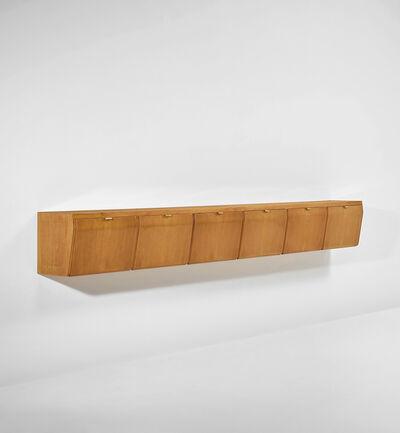 Osvaldo Borsani, 'Unique wall-mounted cabinet', 1950s
