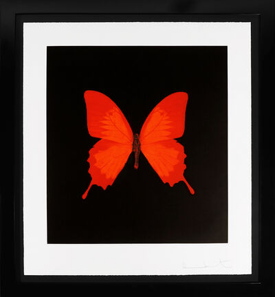 Damien Hirst, ''Butterfly Soul' Etching, Red', 2007