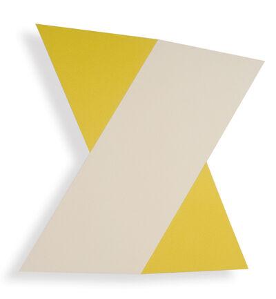 Donald Alberti, 'White Yellow', 1991