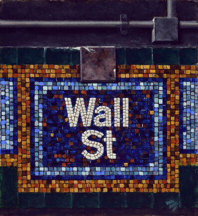 Daniel Greene, 'Wall St. Mosaic', 2017