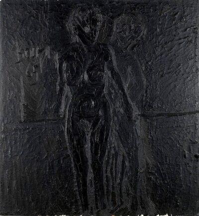 Francis Newton Souza, 'Standing Couple', 1965