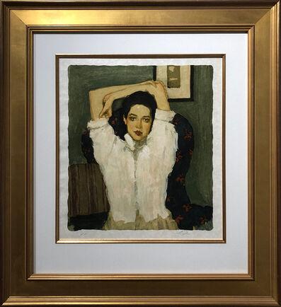 Malcolm T. Liepke, 'Girl in White Blouse', 1996