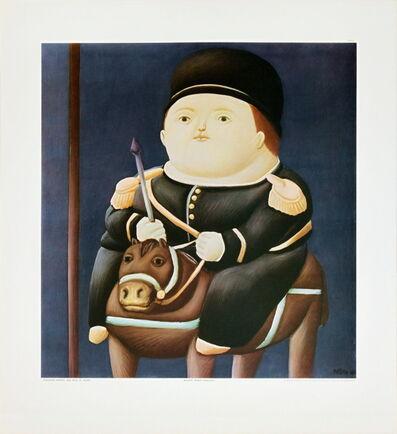 Fernando Botero, 'St Georg', (Date unknown)