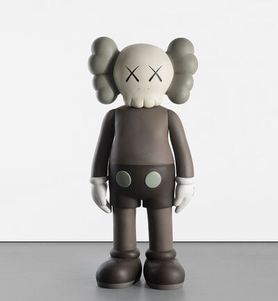 KAWS, 'FOUR FOOT COMPANION (BROWN)', 2007